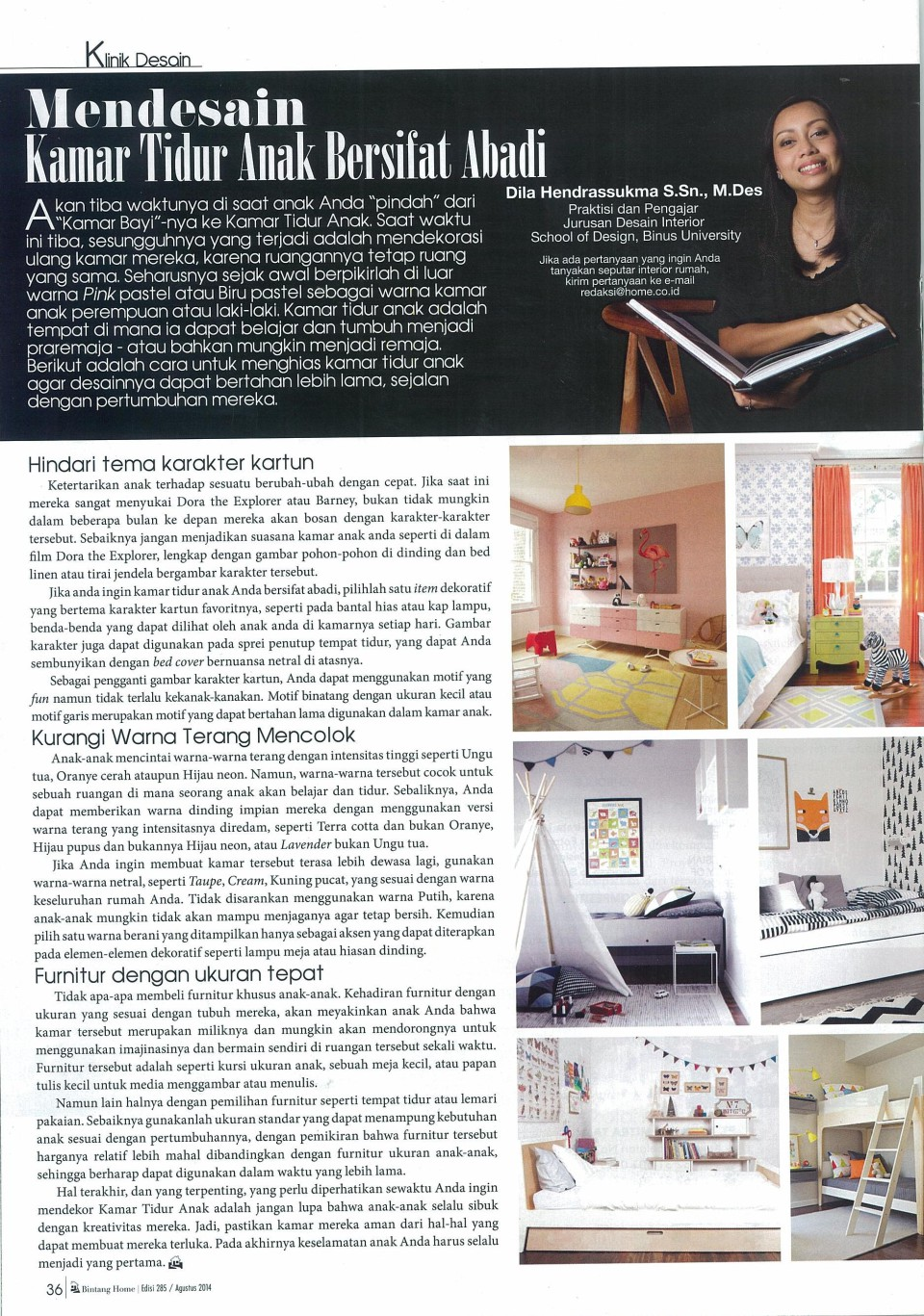 Klinik Desain from Bintang Home | edition 278 |April 2014
