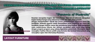 Perancangan Interior Fasilitas Edutainment Untuk Kebudayaan Lokal Indonesia Di Jakarta