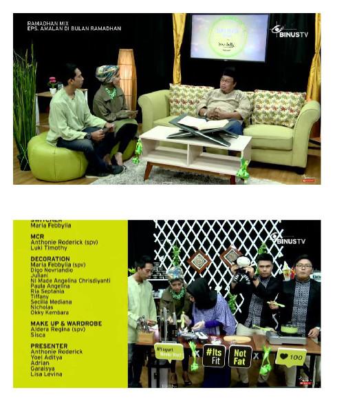 DESAIN INTERIOR & Binus TV 1
