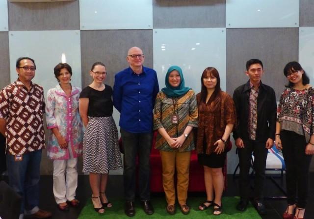 Kunjungan HE Paul Grigson ke BINUS University 5/8/2015