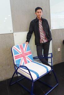 Lounge Chair karya Riki Halim (1601288086), peminatan Desain Furniture