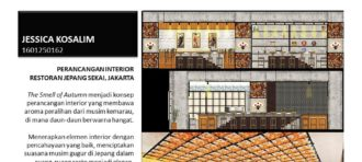 PERANCANGAN INTERIOR GALERI DAN RESTO LEGO DI JAKARTA