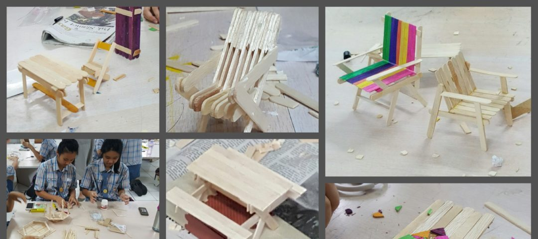 Workshop Modeling Furniture with students From PAHOA