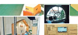 Congratulation Wesley Binusian Desain Interior win the 1st  Dulux Designer award competition students category