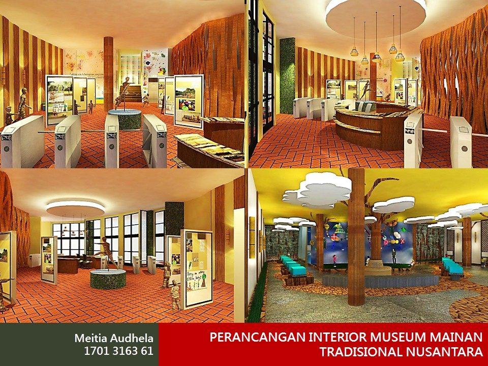 PERANCANGAN INTERIOR MUSEUM MAINAN TRADISIONAL NUSANTARA