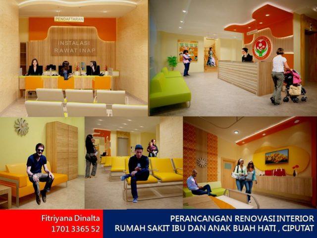 Perancangan Renovasi Interior Rumah Sakit Ibu Dan
