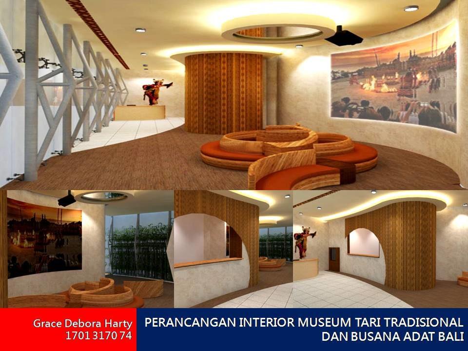 PERANCANGAN INTERIOR MUSEUM TARI TRADISIONAL DAN BUSANA ADAT BALI
