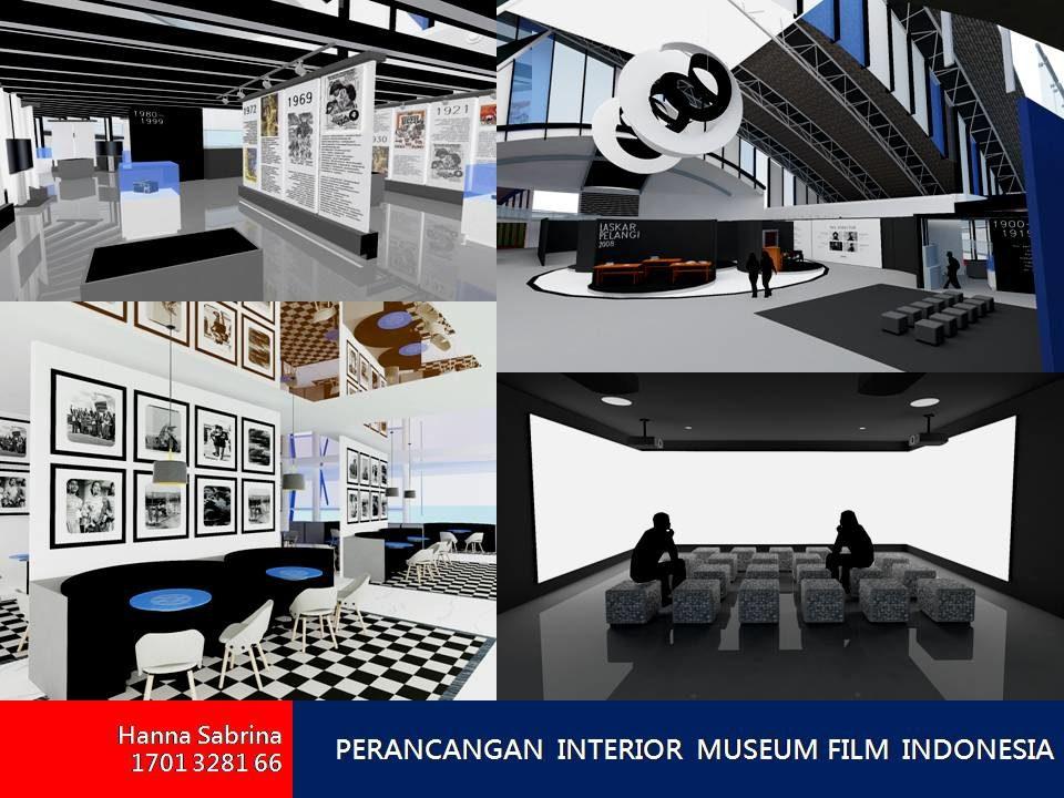 PERANCANGAN  INTERIOR  MUSEUM FILM  INDONESIA