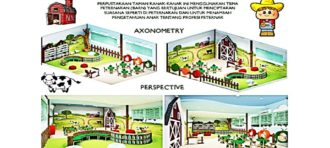 PERANCANGAN INTERIOR PRESCHOOL AND KINDERGARTEN METODE PLAYBASED  DI BINTARO