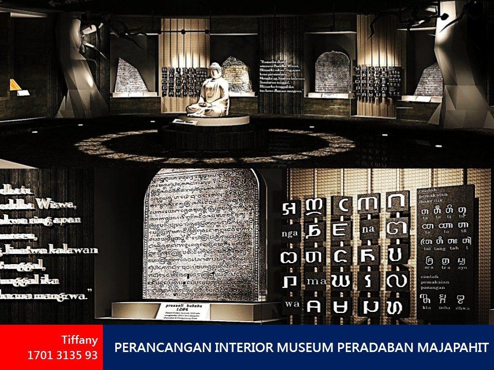 PERANCANGAN INTERIOR MUSEUM PERADABAN MAJAPAHIT