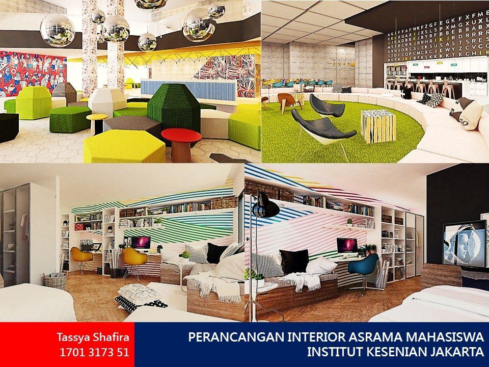 PERANCANGAN INTERIOR ASRAMA MAHASISWA INSTITUT KESENIAN JAKARTA