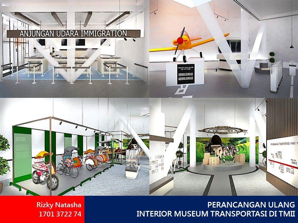 PERANCANGAN ULANG INTERIOR MUSEUM TRANSPORTASI DI TMII