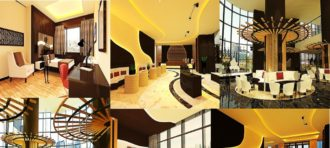 PERANCANGAN INTERIOR KONDOTEL INTERCONTINENTAL HOTEL PONDOK INDAH