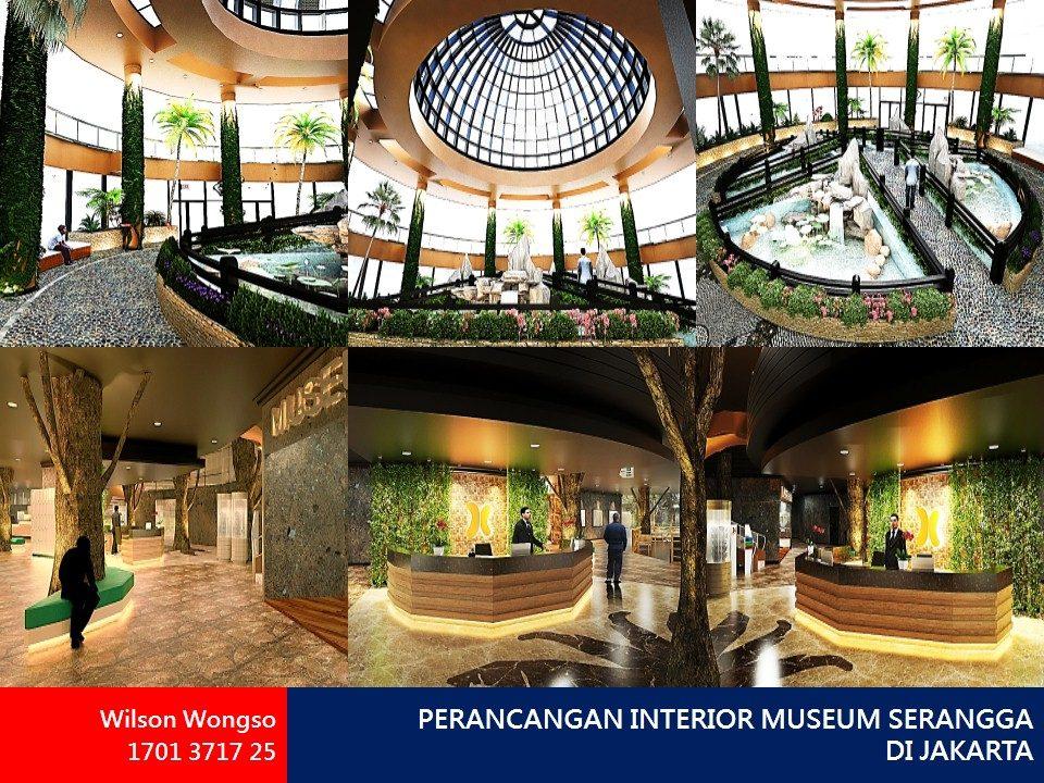 PERANCANGAN INTERIOR MUSEUM SERANGGA DI JAKARTA