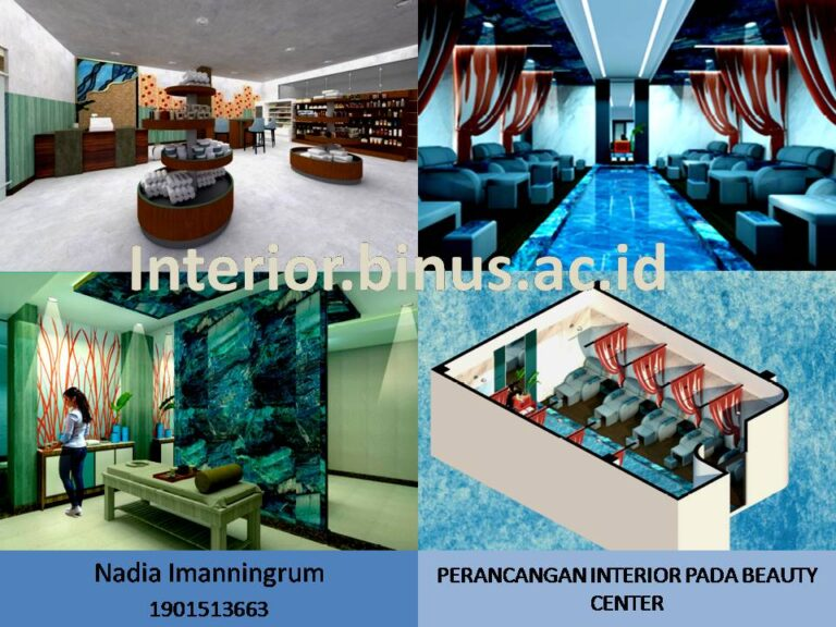 PERANCANGAN INTERIOR BEAUTY CENTER DI KOTA MAKASSAR