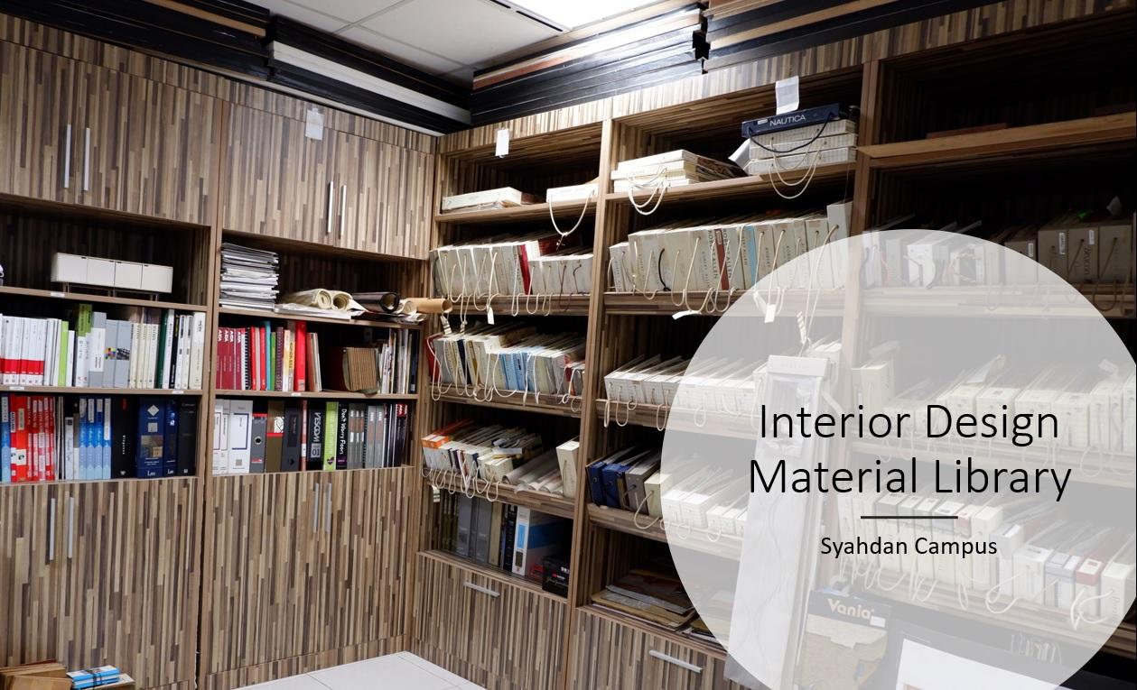 Interior Design Material Library
