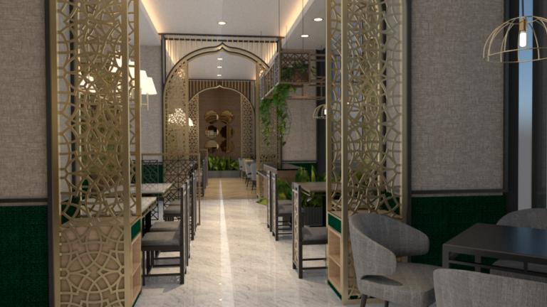 Perancangan Desain Interior Hotel Butik Dengan Cerita Sejarah Kesultanan Banten Di Jakarta
