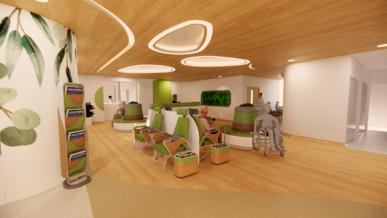 Perancangan Furnitur Dan Aksesoris Interior Pada Klinik Penyakit Dalam Di Jakarta Dengan Pendekatan Biofilia