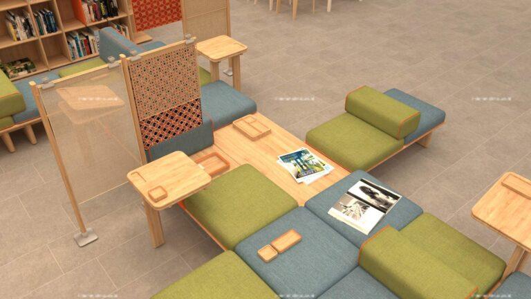 Perancangan Furniture dan Aksesoris Interior Pada Pusat Pengembangan Desain di Jakarta Dengan Penerapan Sistem Modular