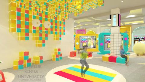 Perancangan Kids Hub Pusat Edukasi Dan Rekreasi Permainan Anak Indonesia Di Jakarta