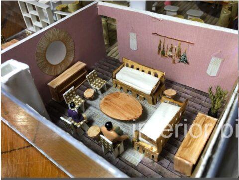 DI 2 Retail Design: Warm & Cozy House