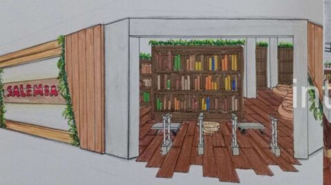 DI 2 Retail Design: Rainforest Of The Book