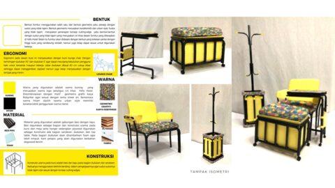 DF 4 HOTEL: Yello-U Set Furnitur (Fiona Fiorensa - 220179370)