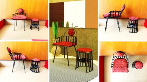 DF 4 HOTEL: Abinne Chair (Sherly - 220175877)