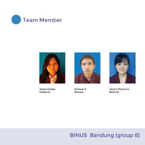 BINUS Bandung ( Group 8)