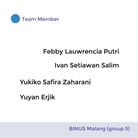 BINUS Malang ( Group 5)