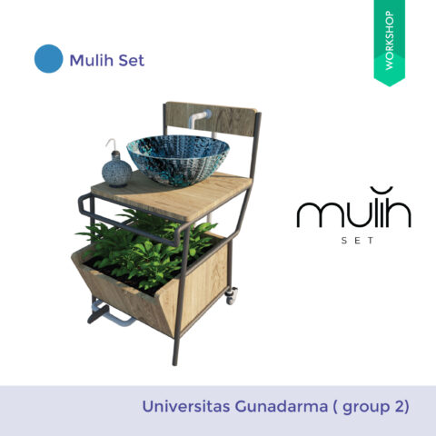 Mulih Set ( From Discarded Chair)