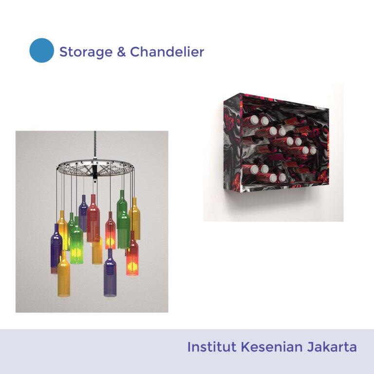 Storage + Chandelier