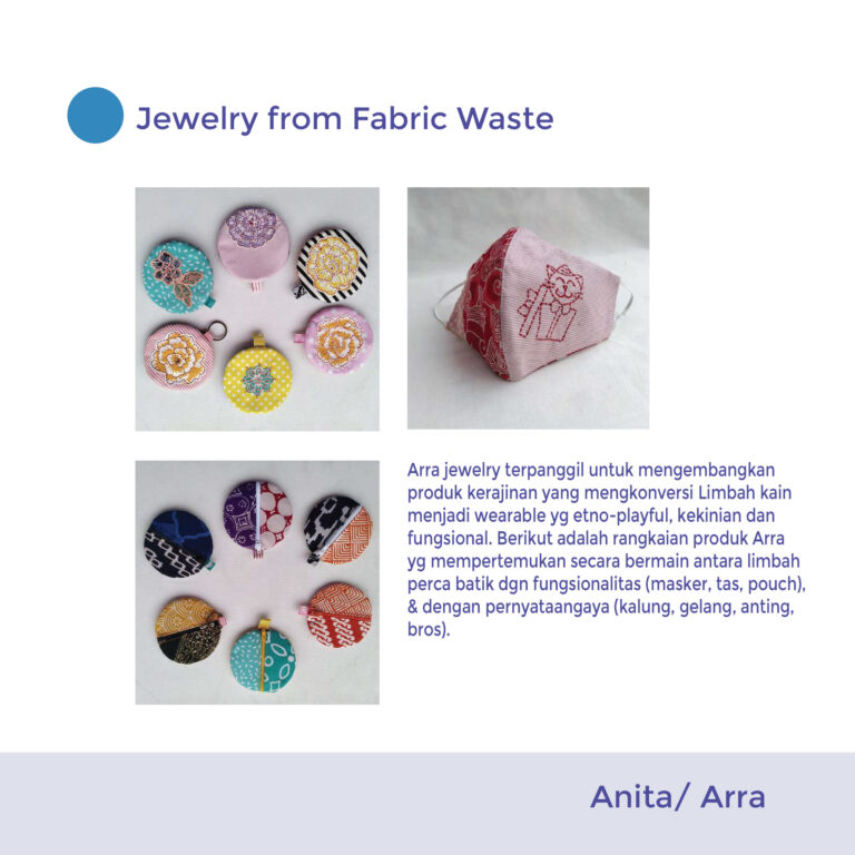 Accessories from Fabric Waste