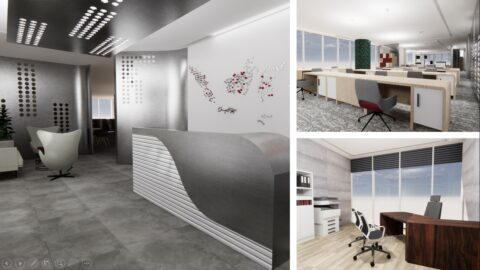 ID 3 Office Design: Power In Eco Dynamic