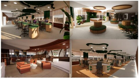 ID 3 Office Design: Longlasting Eco Forest